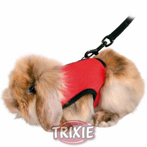 Trixiе 61512 Шлейка-жилетка для морской свинки/кролика