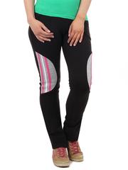 7423-2 брюки спорт. жен. черные