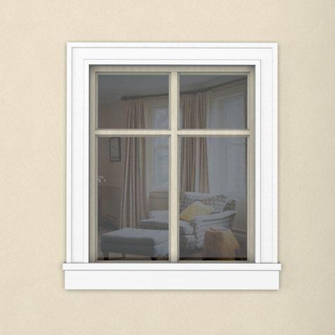 Окно с наличником 125ПН1 1800Х1600