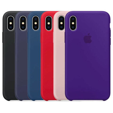 Silicone case iPhone X