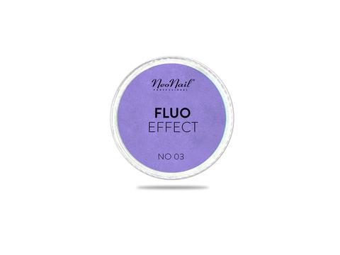 NeoNail Пудра Fluo Effect 03 - фиолетовый