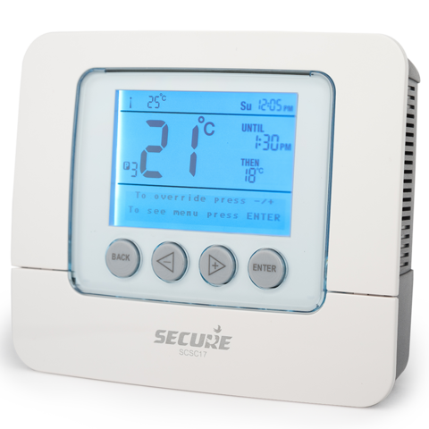 Настенный семидневный термостат SCS C17Копировать товар