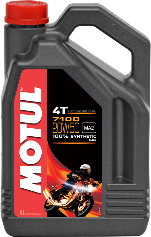 Motul 7100 20W50 4T Синтетическое моторное масло для мотоциклов
