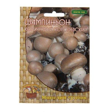 Мицелий грибов Шампиньон коричневый на компосте 60 мл