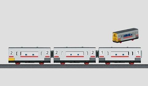 Marklin 44270 Состав из трех пассажирских вагонов