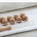 Веревочный ленточный массажер для нежной кожи, 20 круглых шариков