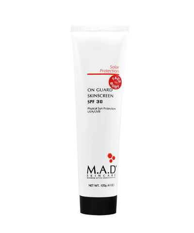 Защитный крем для лица и тела Solar Protection On Guard Skinscreen SPF 30, M.A.D Skincare, 120 гр