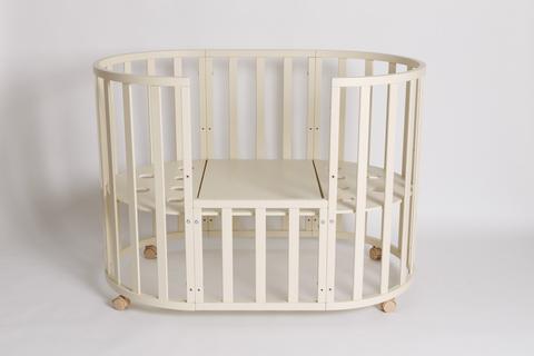 Кровать детская 7 в 1 универсальный маятник, рисунок