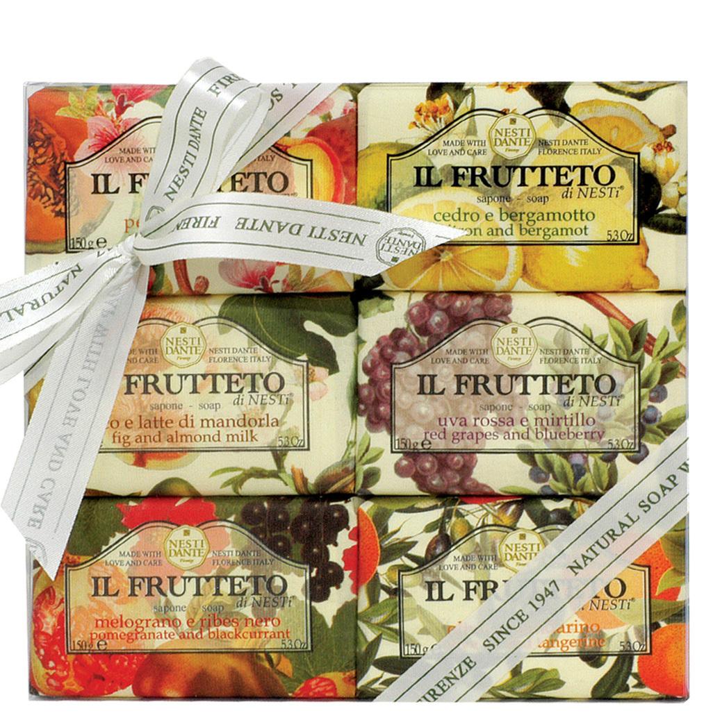 Набор мыла Il Frutteto / Фруктовая коллекция 6*150гр.