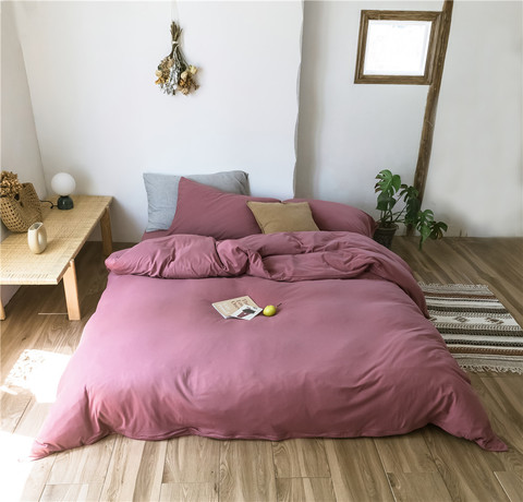 Евро постельное белье трикотаж Nature Collection R-17