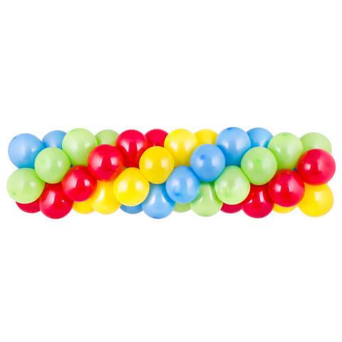Гирлянда из шаров 4 цвета