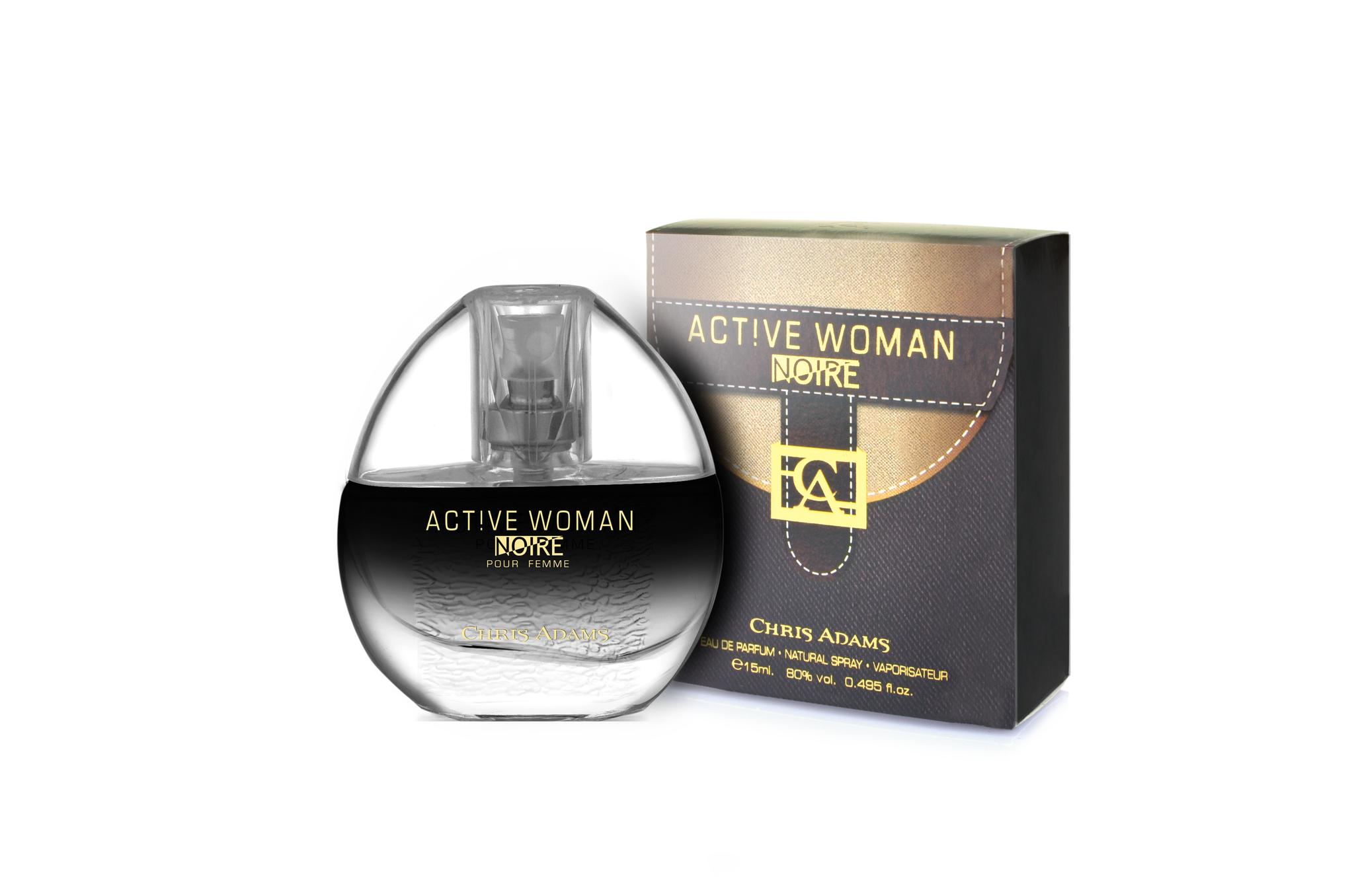 Chris Adams Женский Active Noire Woman Парфюмерная вода 15 мл