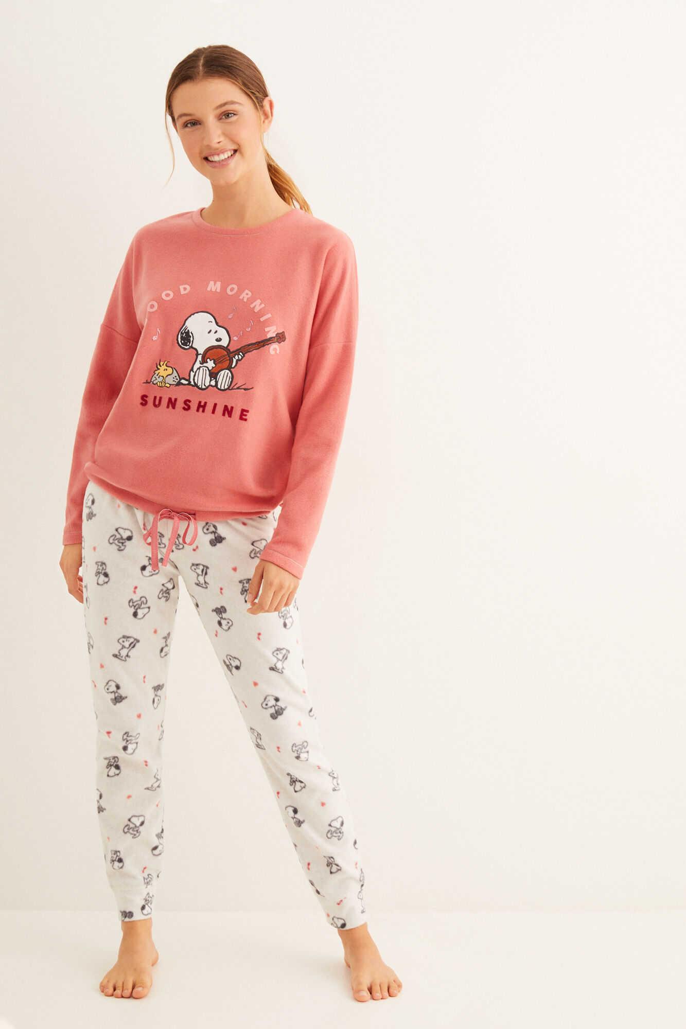 Довга флісова піжама Snoopy