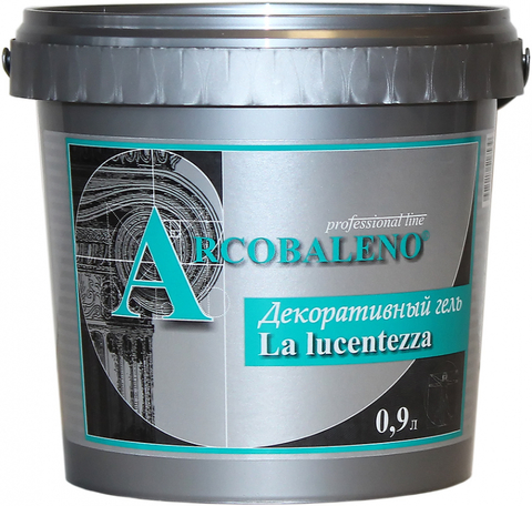 LA LUCENTEZZA Декоративный гель 0.1 л.