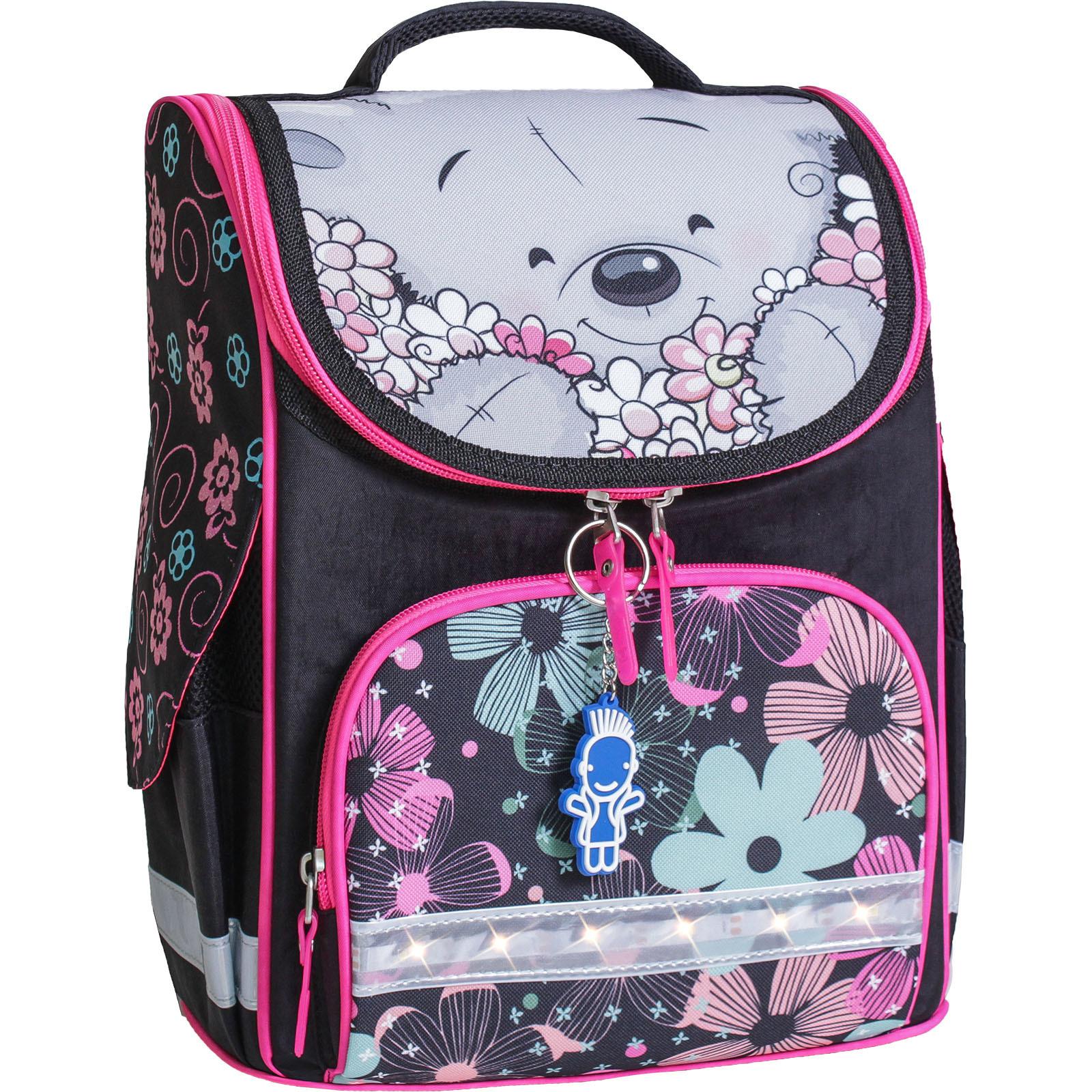 Школьные рюкзаки Рюкзак школьный каркасный с фонариками Bagland Успех 12 л. черный 406 (00551703) IMG_8019-1600.jpg