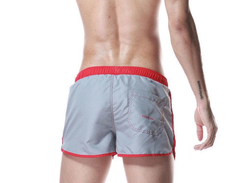 Мужские шорты спортивные серые Seobean Running Athletic Grey