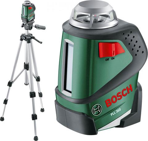 Лазерный нивелир со штативом BOSCH PLL 360 Set