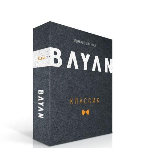 Ультратонкие презервативы BAYAN