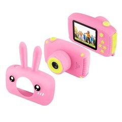 Детский цифровой фотоаппарат с силиконовым чехлом