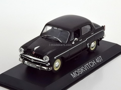 Moskvich-407 black 1:43 DeAgostini Masini de legenda #19