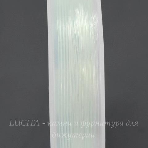 Леска - стрейч прозрачная для браслетов, 0,5 мм, 10 м