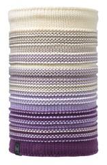 Вязаный шарф-труба с флисовой подкладкой Buff Neper Violet