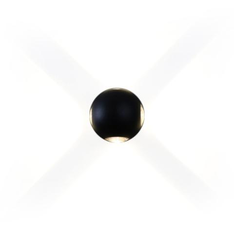 Настенный светильник копия 15 by Delta Light (черный , четверной)