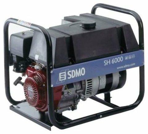 Кожух для бензинового генератора SDMO SH6000 (5400 Вт)