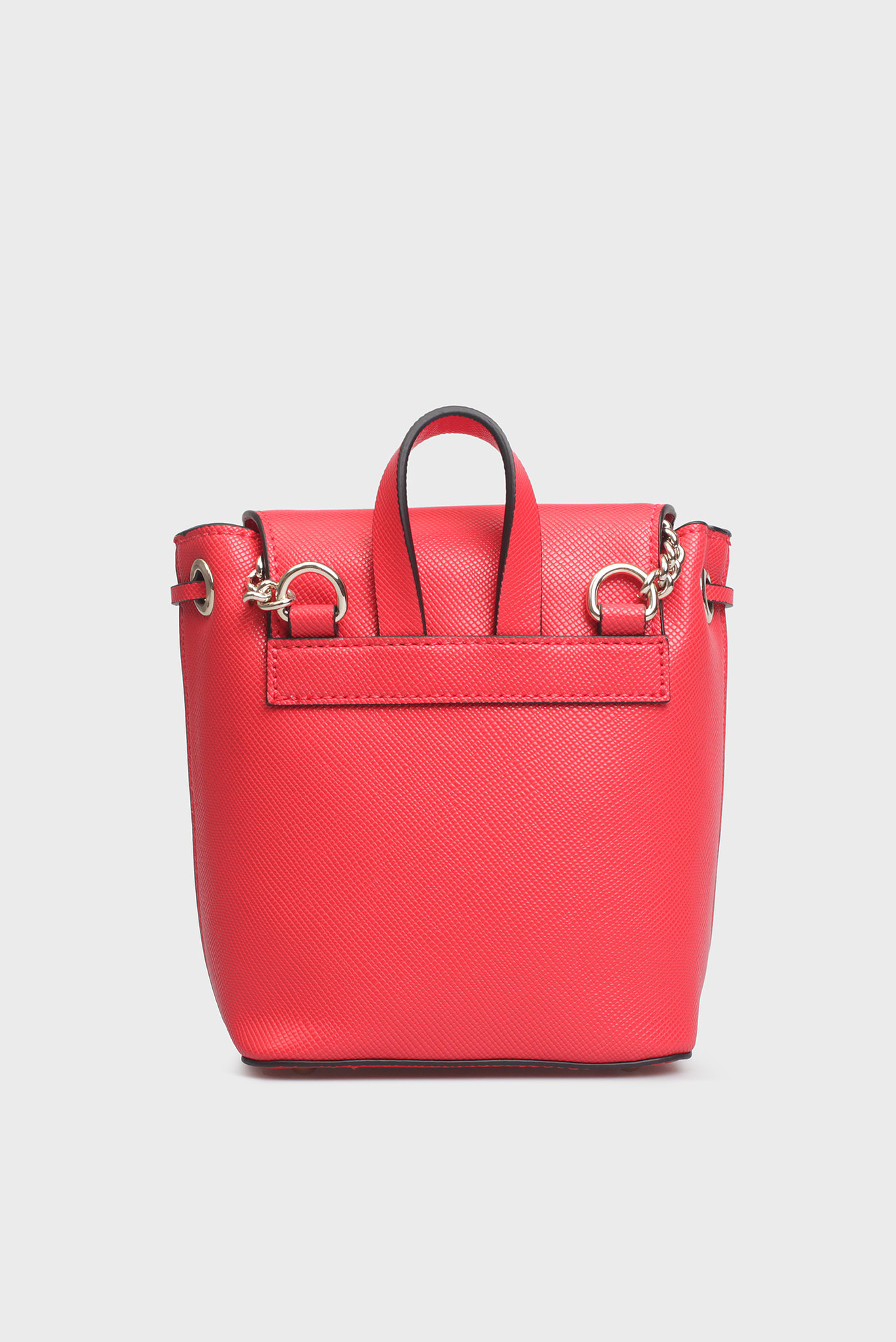 Женская красная сумка через плечо Guess
