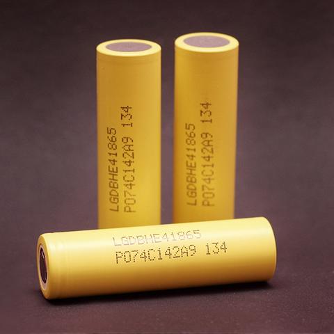 Аккумулятор LG HE4 18650 3.7V
