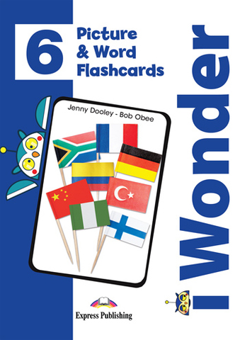 i Wonder 6 Picture and Word Flashcards - Картинки для запоминания лексики