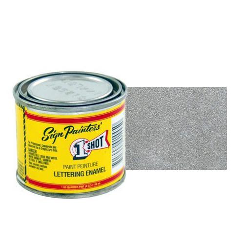 Пинстрайпинг (pinstriping) 193-L Эмаль для пинстрайпинга 1 Shot Серебро (Metallic Silver), 118 мл MetallicSilver.jpg
