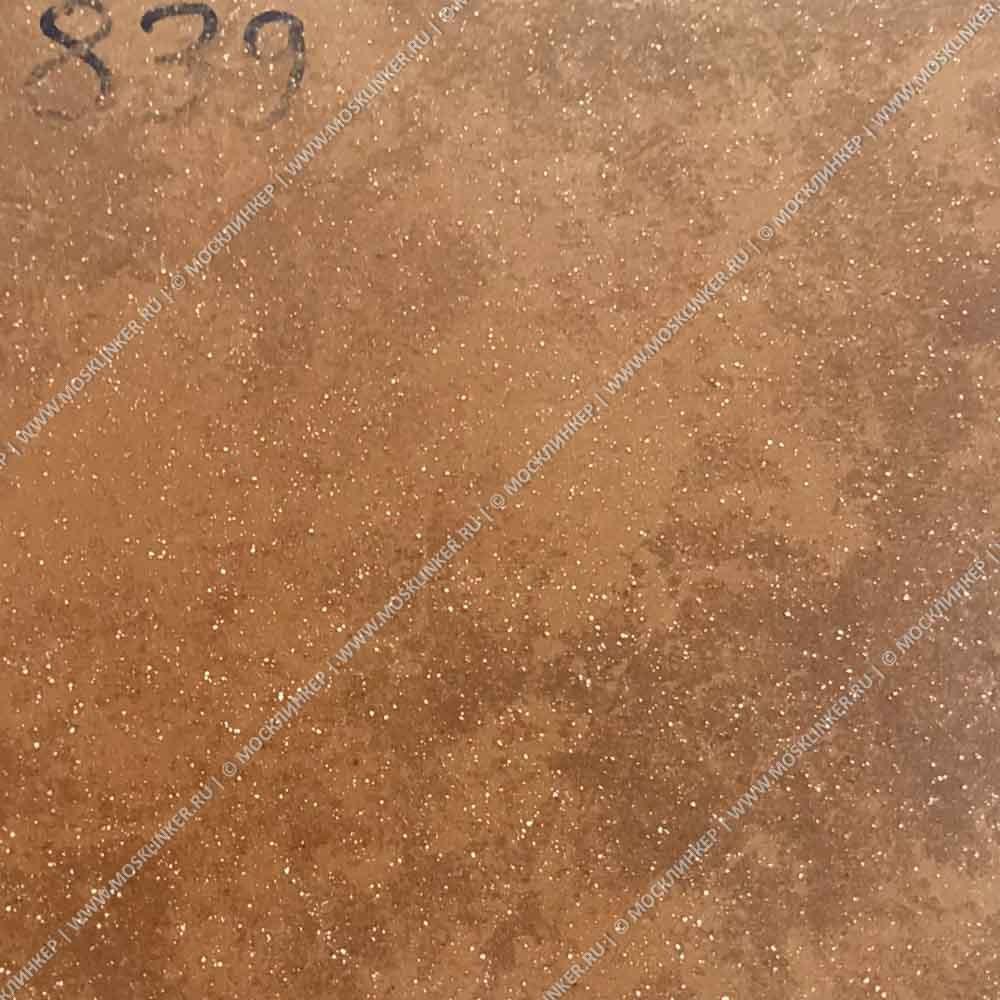 Stroeher - Keraplatte Roccia 839 ferro 240x240x10 артикул 8081 - Клинкерная напольная плитка
