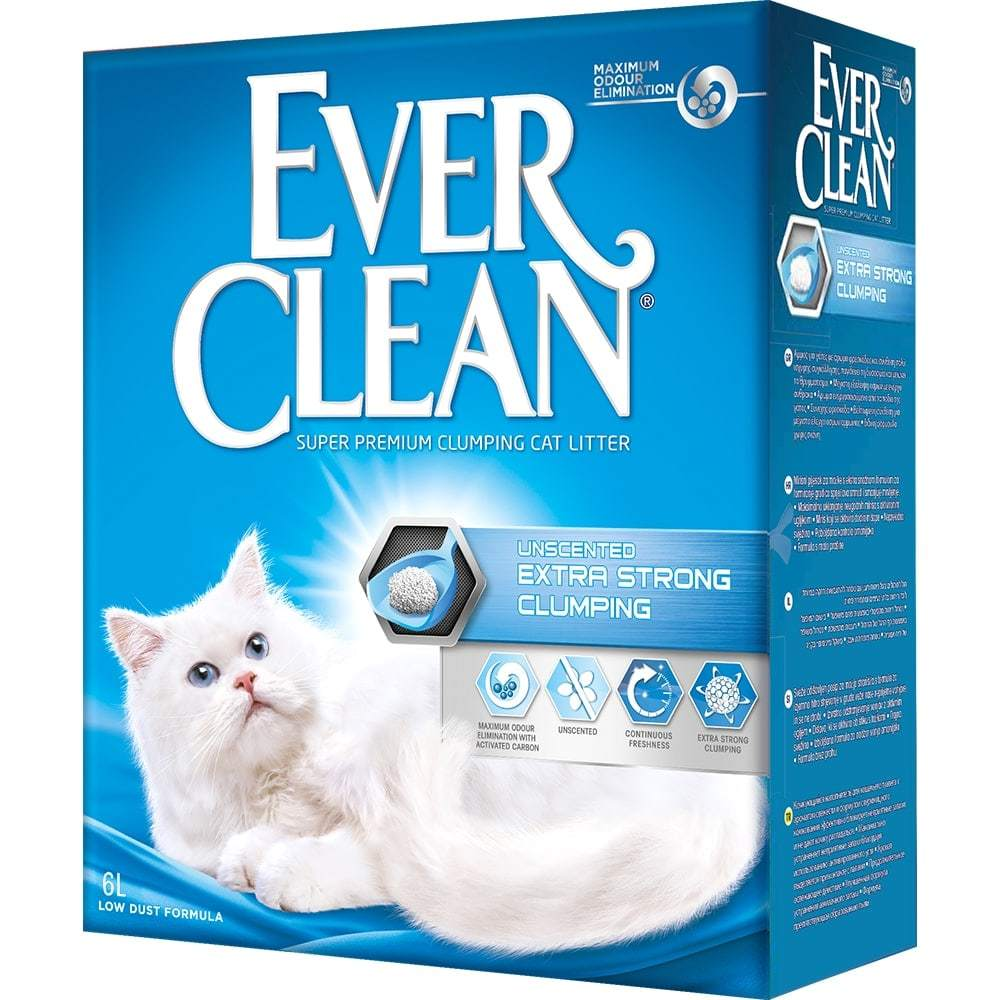 Купить Ever Clean Extra Strong Clumping Unscented