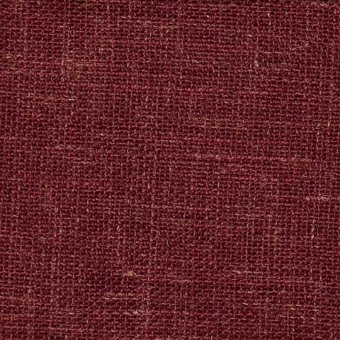 Портьерная ткань Бергамо рогожка темно-бордовый