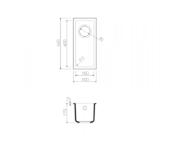 Схема Omoikiri Bosen 20-U-BE