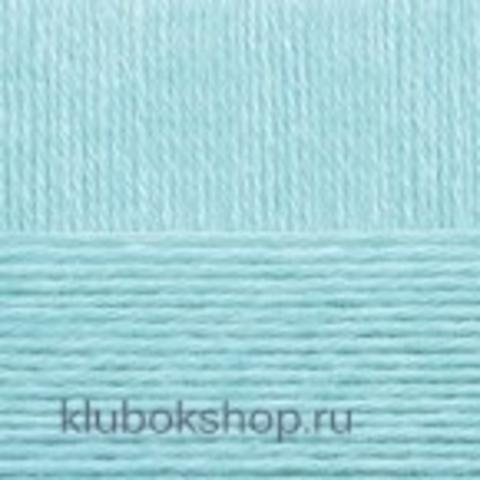 Пряжа Детская объемная (100 г/ моток) Пехорка 222 Голубая бирюза - купить в интернет-магазине недорого klubokshop.ru