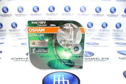 Автолампы Osram H4 Ultra life / 64193ULT-HCB