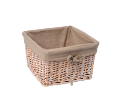 Плетеная корзина для ванной WasserKRAFT Kammel WB-180-M