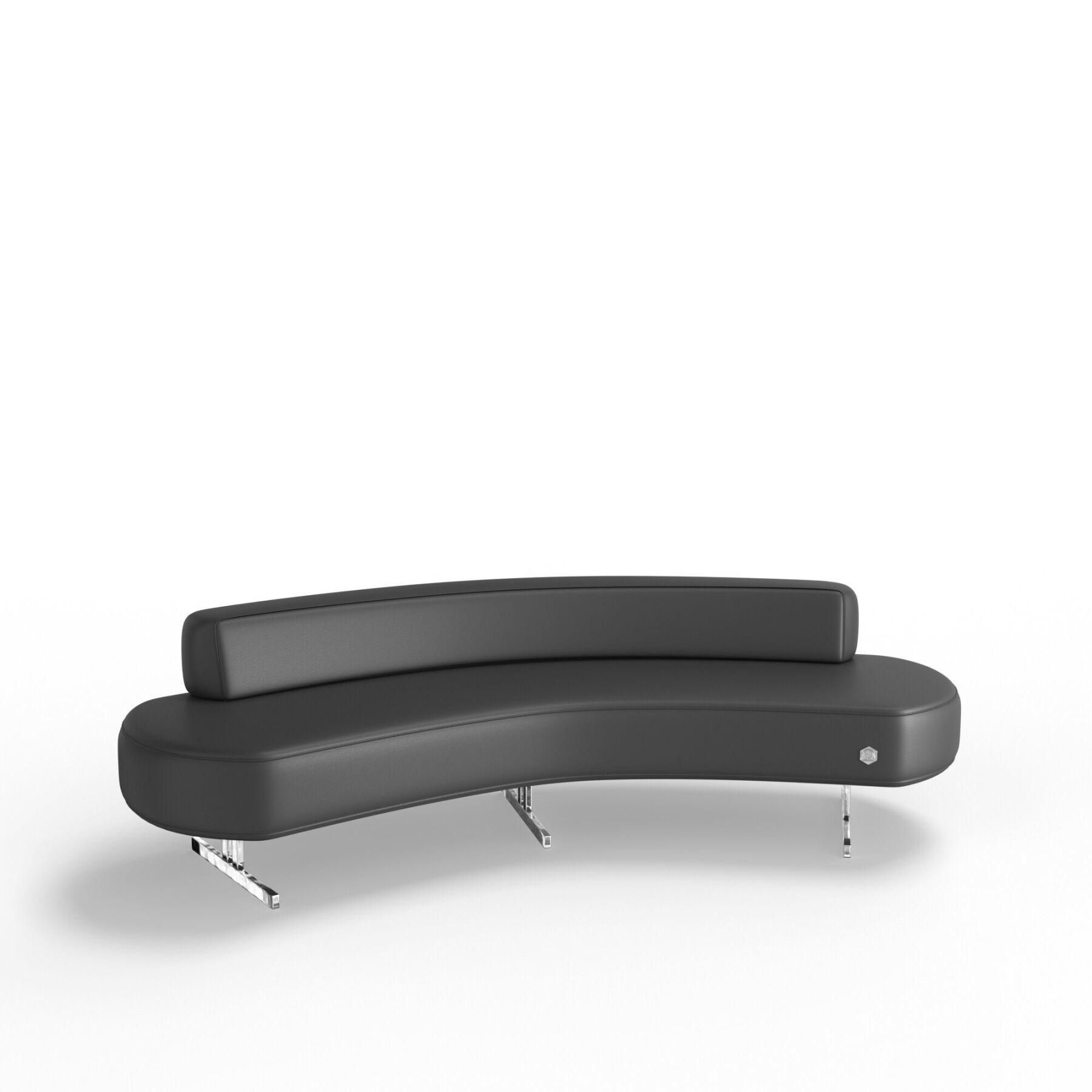 Трехместный диван KULIK SYSTEM FLEX_25 Кожа Целый