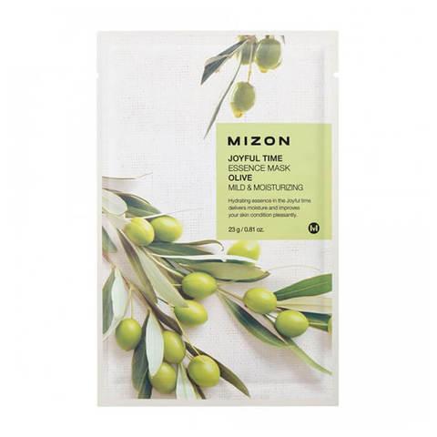 Mizon Joyful Тканевая маска для лица с экстрактом оливы 23г