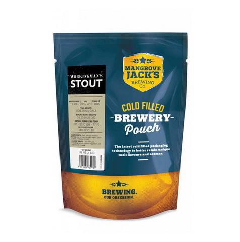 Пивной набор Mangrove jack's - Workingman's stout 1,8 кг до 23 л