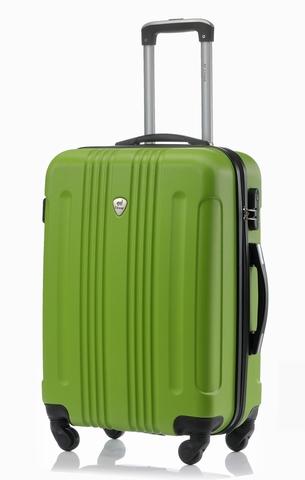 Чемодан со съемными колесами L'case Bangkok-22 Зеленый (M)