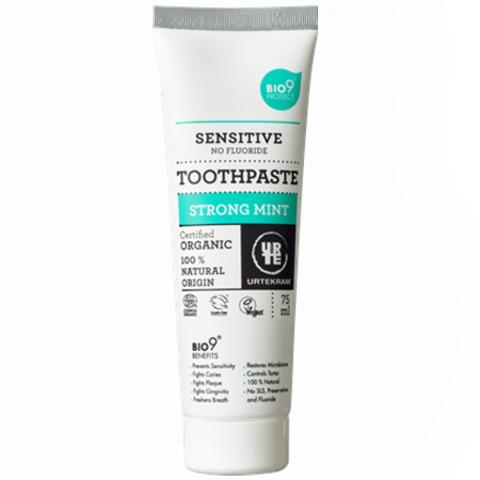 Urtekram Зубная паста с сильным ароматом мяты для чувствительных зубов