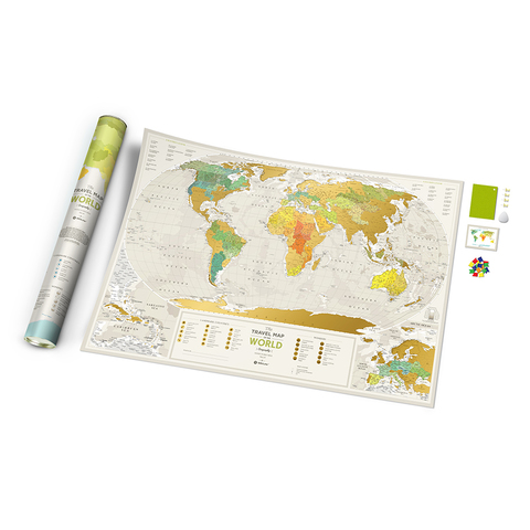 Скретч Карта Travel Map Geograghy World 1DEA.ME