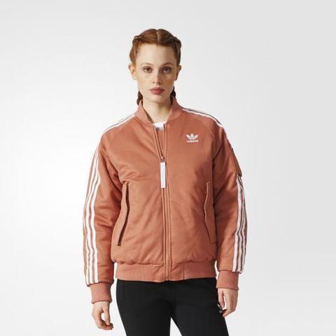 КУРТКА-БОМБЕР женская adidas ORIGINALS SHORT