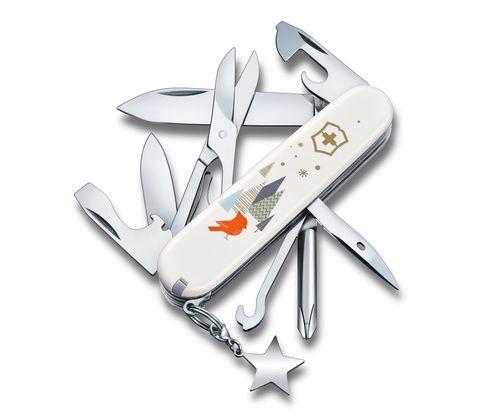 Складной коллекционный нож Victorinox Super Tinker Winter Magic Special Edition 2019 (1.4703.7E1) - Wenger-Victorinox.Ru