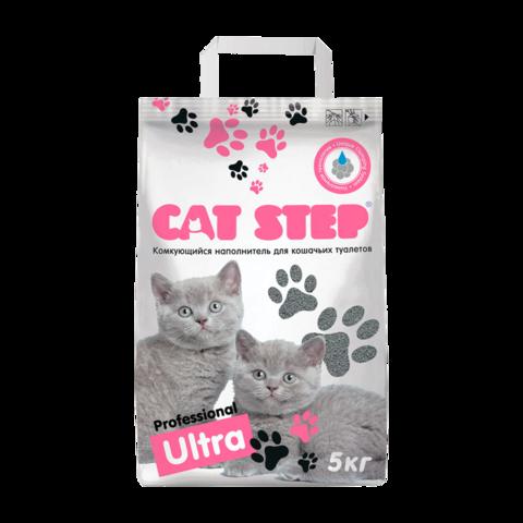 Cat Step Professional Ultra Наполнитель для туалета кошек комкующийся
