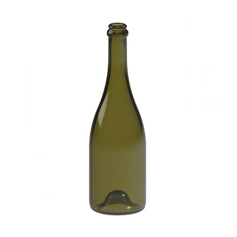 Бутылка шампанская «КПШ» 0,75 л. 12 шт, термоусадочная пленка