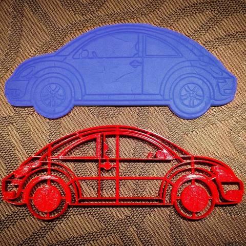 Машина Volkswagen New Beetle